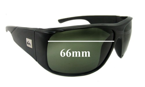 Quiksilver Revolver Replacement Sunglass Lenses - 66mm Wide