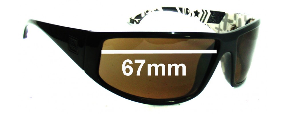 577f1c9929 Quiksilver AKKA DAKKA Replacement Lenses - 67mm Wide