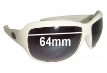 Quiksilver MOD 7185 Replacement Sunglass Lenses - 64mm Wide may be marked as 61mm