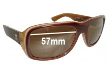 Quiksilver Little Italy Replacement Sunglass Lenses - 57mm Wide