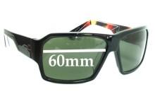 Quiksilver Shift Replacement Sunglass Lenses - 60mm Wide