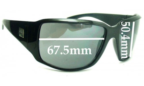 Quiksilver The Don Replacement Sunglass Lenses - 67.5mm Wide