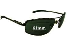 R.M. Williams PA708 Replacement Sunglass Lenses - 61mm wide