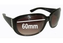 Ralph Lauren RA5018 Replacement Sunglass Lenses - 60mm wide