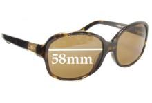 Ralph Lauren RA5059 Replacement Sunglass Lenses - 58mm wide
