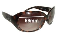 Ralph Lauren RA5107 Replacement Sunglass Lenses - 59mm wide