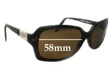 Ralph Lauren RA5130 Replacement Sunglass Lenses - 58mm Wide