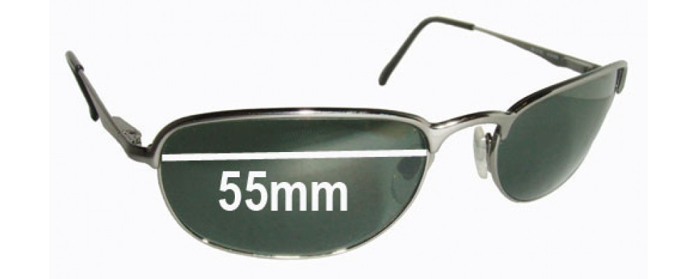 Ray Ban RB3105 Replacement Sunglass Lenses - 55mm wide