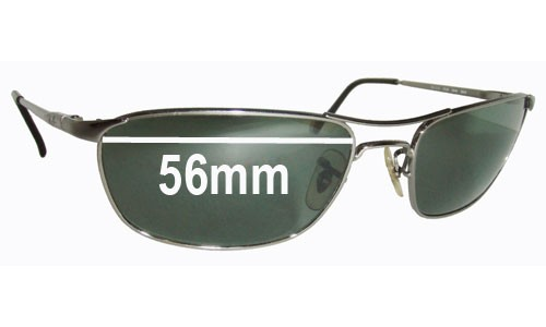 Ray Ban RB3132 Replacement Sunglass Lenses - 56mm wide