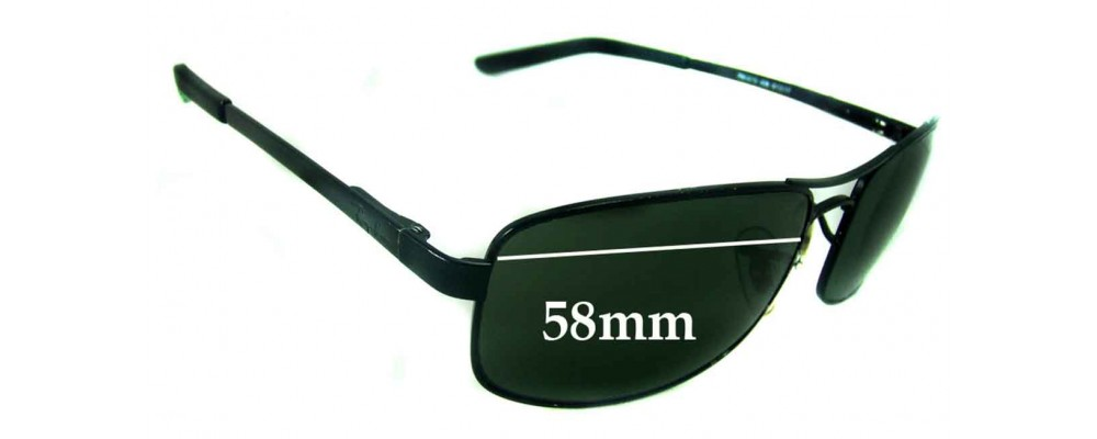 Ray Ban RB3212 Replacement Sunglass Lenses - 58mm Wide