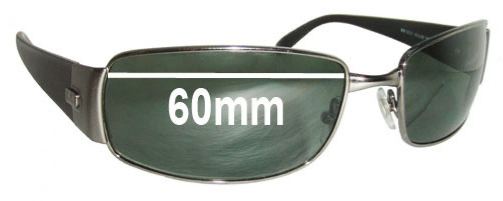 Ray Ban RB3237 Replacement Sunglass Lenses - 60mm across