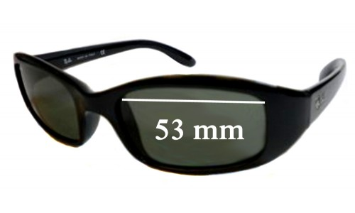 Ray Ban Sidestreet RB4063 Sunglass Replacement Lenses - 53mm Wide