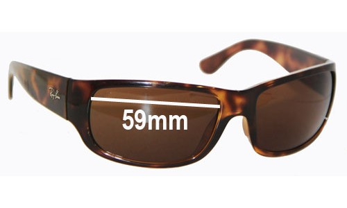 Ray Ban RB4095 New Sunglass Lenses -  59mm wide