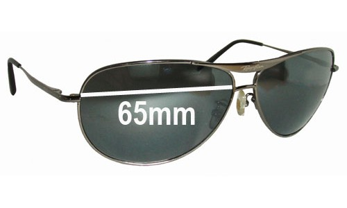 Sunglass Fix Replacement Lenses for Ray Ban RB8015 Replacement Sunglass Lenses- 65mm wide