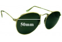63a82409a9 Sunglass Fix Sunglass Replacement Lenses for Ray Ban John Lennon Bausch  Lomb - 50mm wide