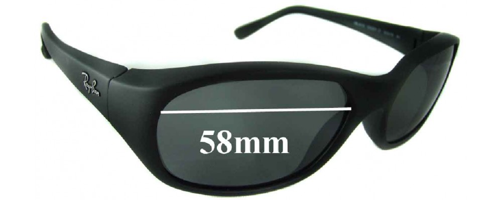 18d243cd28 Ray Ban RB2016 Daddy-O 58mm Replacement Lenses