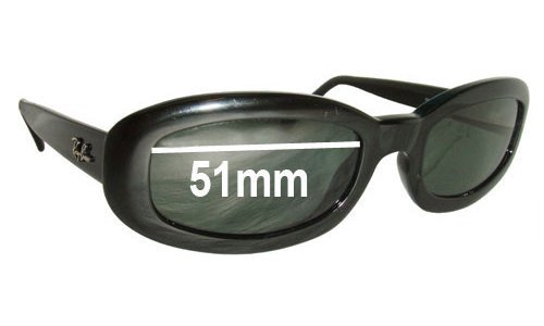 Ray Ban RB2111 Rituals Replacement Sunglass Lenses - 51mm wide lenses