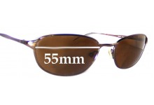 Ray Ban RB3023 Replacement Sunglass Lenses - 55mm across