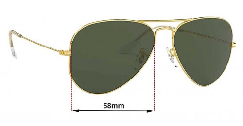 1045bc0d52 Ray Ban Aviator Rb3025 Replacement Lenses « Heritage Malta