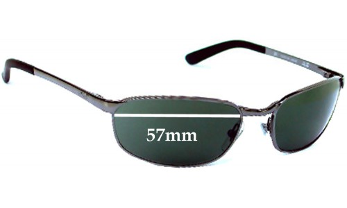 Ray Ban RB3175 Replacement Sunglass Lenses - 57mm Wide Lens