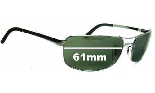Ray Ban RB3212 Replacement Sunglass Lenses - 61mm Wide