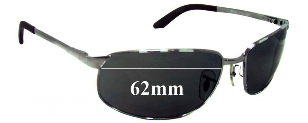 ray ban 3221  ray ban rb3221 replacement sunglass lenses 62mm wide