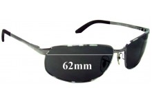 Ray Ban RB3221 Replacement Sunglass Lenses - 62mm Wide