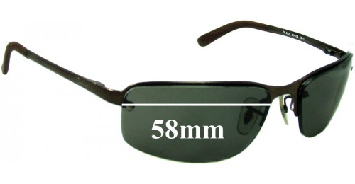 rb3239  Ray Ban RB3239 Replacement Sunglass Lenses - 58mm wide