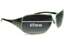 Ray Ban Highstreet Aviator Replacement Sunglass Lenses RB3320 - All other models except 41-71 and 3320 042-8Z - 65mm wide