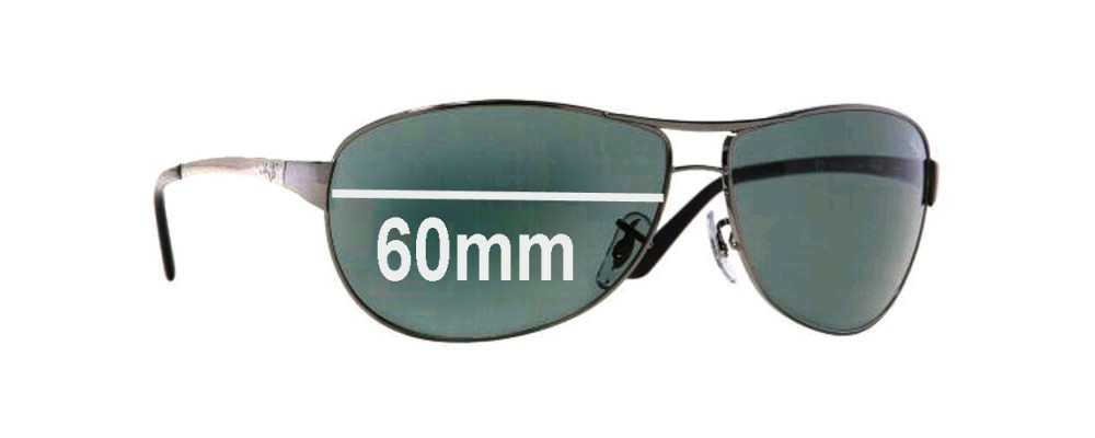 ray ban sunglasses glass replacement  ray ban warrior rb3342 replacement sunglass lenses 60mm wide