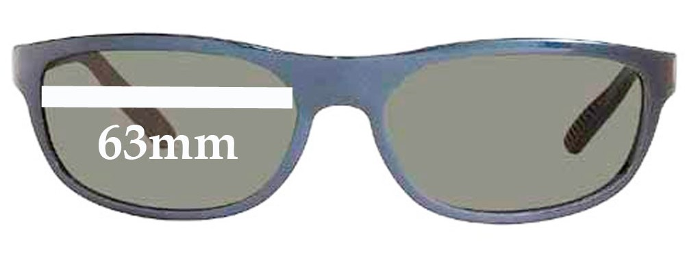 Ray Ban RB4003 -  63mm Replacement Sunglass Lenses