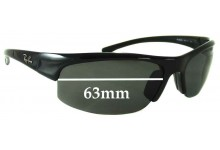 Ray Ban RB4039 Replacement Sunglass Lenses - 63mm Wide