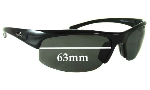 Sunglass Fix Replacement Lenses for Ray Ban RB4039 - 63mm Wide