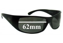 Ray Ban RB4108 Replacement Sunglass Lenses - 62MM across