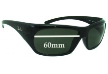 Ray Ban RB4111 Replacement Sunglass Lenses - 60mm Wide