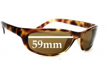 Ray Ban RB4115 Replacement Sunglass Lenses - 59mm wide
