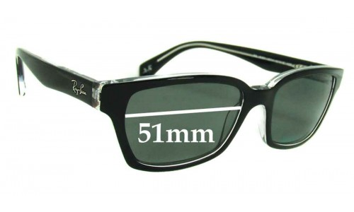 Ray Ban RB5280 New Sunglass Lenses - 51mm wide lenses