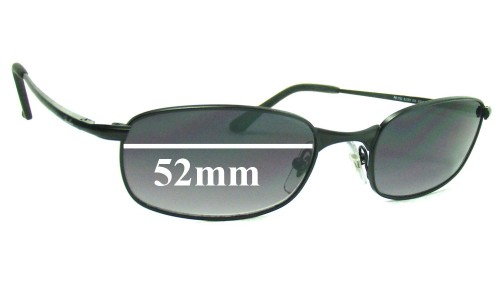 Ray Ban RB3162 Sleek 52MM Replacement Sunglass Lenses