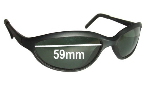 Ray Ban W2967 Replacement Sunglass Lenses - 59mm wide