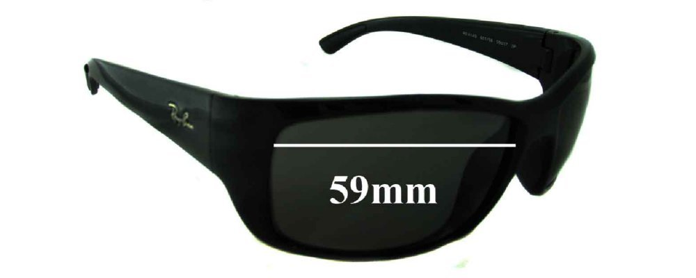 rb4149  Ban RB4149 Replacement Sunglass Lenses - 59mm Wide
