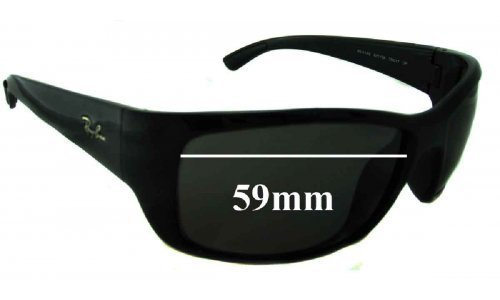 Ray Ban RB4149 Replacement Sunglass Lenses - 59mm Wide