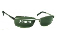 Ray Ban RB3194 Replacement Sunglass Lenses - 59mm wide