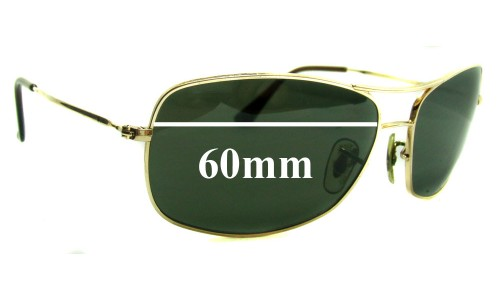 Ray Ban RB3322 Replacement Sunglass Lenses - 60mm wide