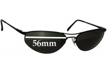 Ray Ban RB3131 Replacement Sunglass Lenses - 56mm wide