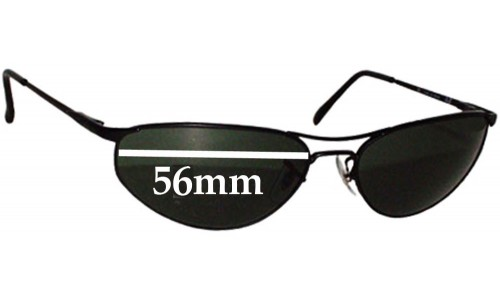 Ray Ban RB3131 New Sunglass Lenses - 56mm wide
