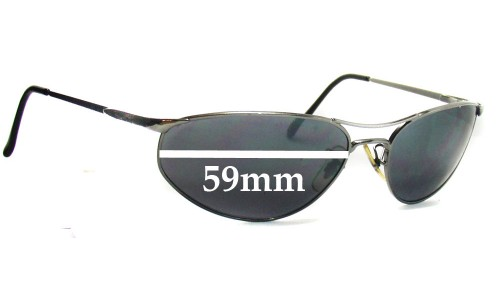 Ray Ban RB3131 Replacement Sunglass Lenses - 59mm wide