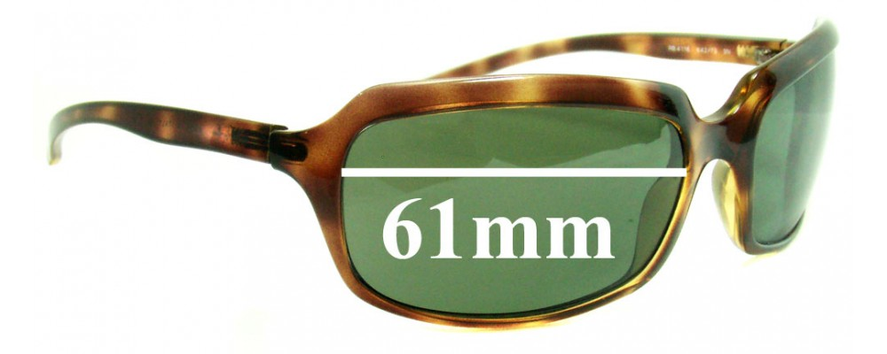 Ray Ban RB4116 Replacement Sunglass Lenses - 61mm wide lenses