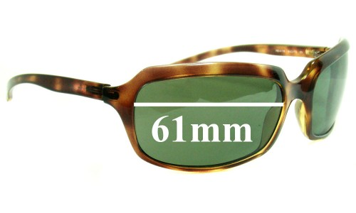 Sunglass Fix Replacement Lenses for Ray Ban RB4116 - 61mm wide lenses