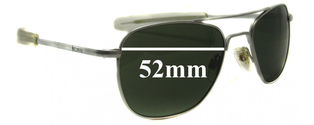 776ac7b38c Randolph Aviator Sunglasses 52mm