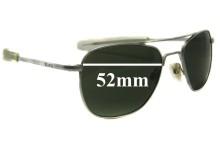 Randolph Engineering Aviator REUSA Replacement Sunglass Lenses - 52mm wide